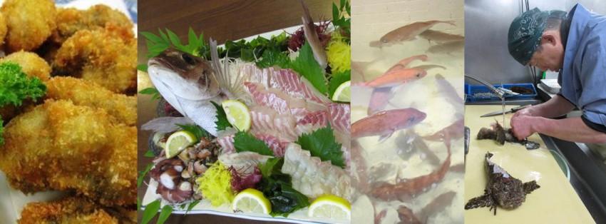 しまなみ海道 大三島の海鮮料理店 くろしお